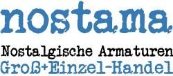 NOSTAMA Nostalgische Armaturen-Logo
